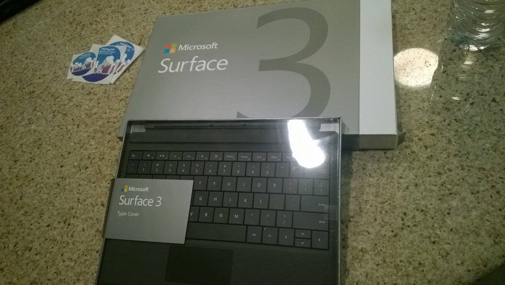 Surface 3 - Microsoft Interns Signature Event